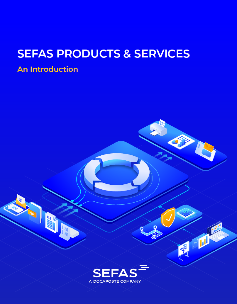 Sefas Brochure Cover